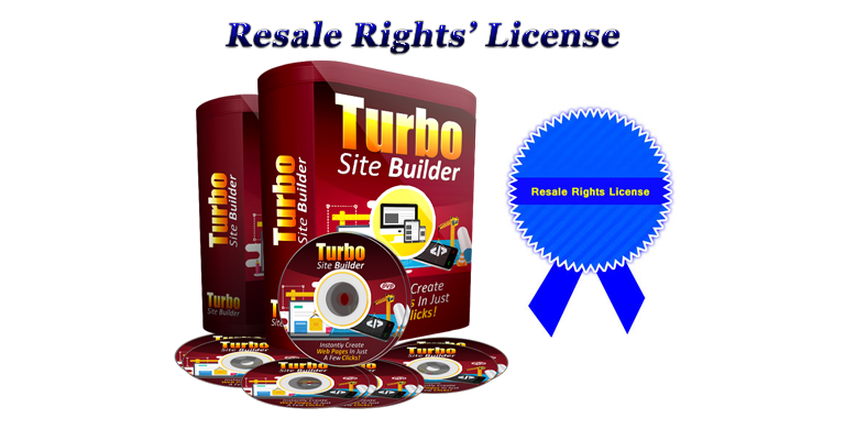 Turbo Site Builder Software Reseller Licence Certificate
