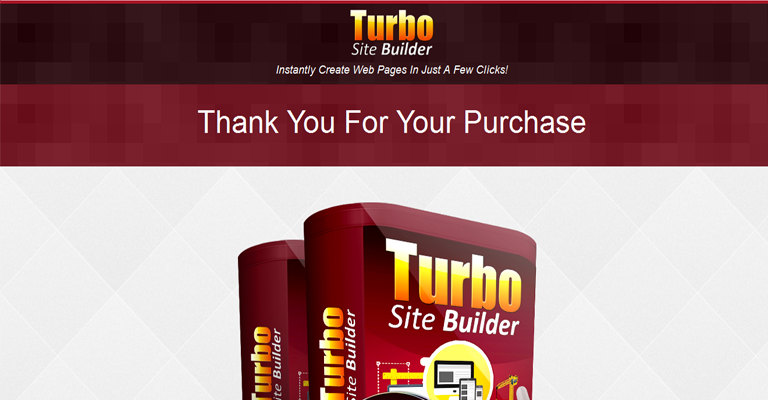 Turbo List Builder Thank You Page